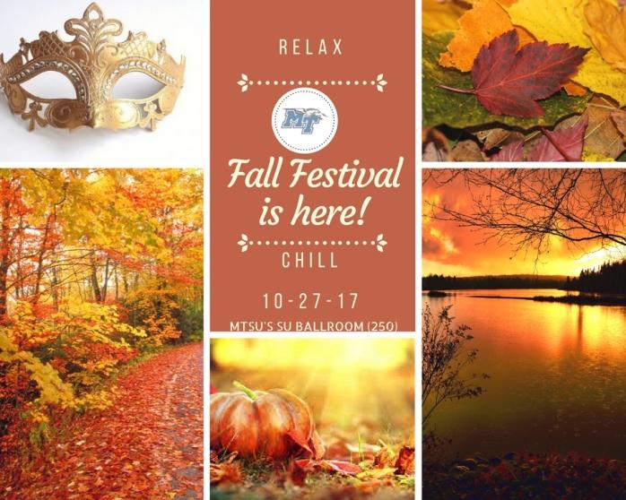 Fall Festivalis here!
